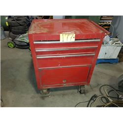 Maintenance Cart Cabinet with contain