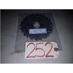 Stagerred Tooth Milling Cutter 6''x3/8''x1''1/4