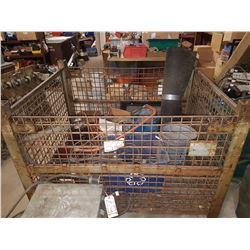 Heavy Duty Storage SteelCage with contain
