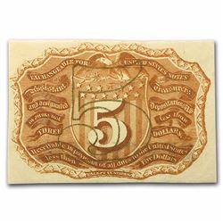 5 Cent Fractional Currency Note