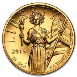 2015 High Relief American Liberty Gold Coin