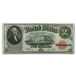 1917 $2 Large Legal Tender Note