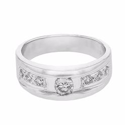 14KT White Gold 0.45ctw Diamond Ring