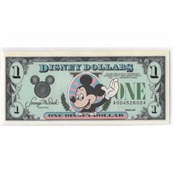 1989A $1 Mickey Disney Dollar