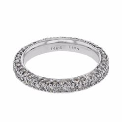 14KT White Gold 1.35ctw Diamond Ring