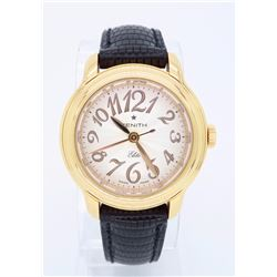 18KT Rose Gold Zenith Ladies Wristwatch