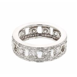 18KT White Gold 2.55ctw Diamond Ring