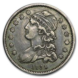 1834 Capped Bust Quarter Coin
