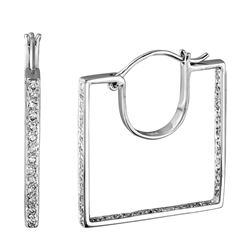 14KT White Gold 0.56ctw Diamond Earrings