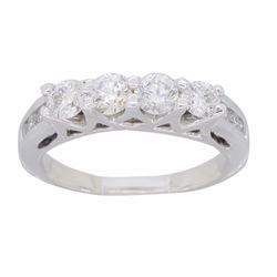 14KT White Gold 0.68ctw Diamond Ring