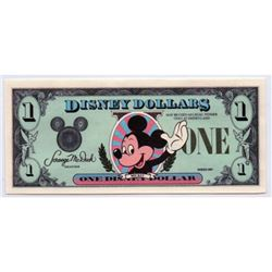 1987 $1 Mickey Disney Dollar Proof