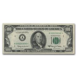 1963-A $100 Boston Federal Reserve Star Note