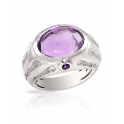 14KT White Gold 7.85ctw Amethyst Ring