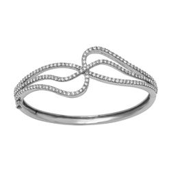18KT White Gold 2.64ctw Diamond Bracelet