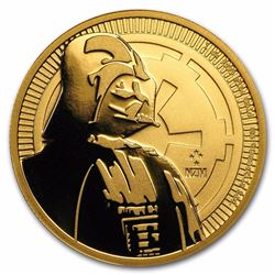 2017 $250 Star Wars Darth Vader Niue 1 oz Gold Coin