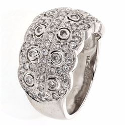 14KT White Gold 1.25ctw Diamond Ring