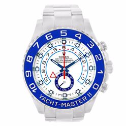 Rolex Yachmaster II Stainless Steel Mens Wristwatch
