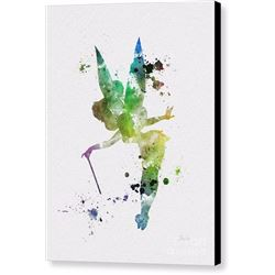 Tinker Bell Print on Canvas