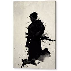 Samurai Print on Canvas