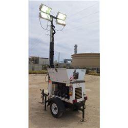 2014 MUTIQUIP LT6K PORTABLE LIGHT TOWER 4000W, 1044 HOURS