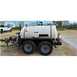 2012 WYLIE EXP500SG EXPRESS WATER WAGON TRAILER, 500 GALLON WITH PUMP