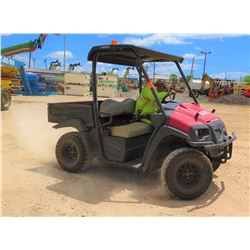 2010 CLUB CAR MODEL XRT 950 UTV W/GAS MOTOR, 2 SEAT, 4WD, 1229 HRS