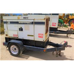 2011 MQ POWER MODEL DCA25USI2C DIESEL GENERATOR, 20KW, 11990 HOURS