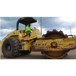 "2006 SAKAI SV510TF 84"" DIESEL SHEEP'S FOOT DRUM RIDE-ON ROLLER, 1506 HOURS"