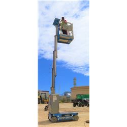 2013 GR15 GENIE 15-FOOT MANLIFT