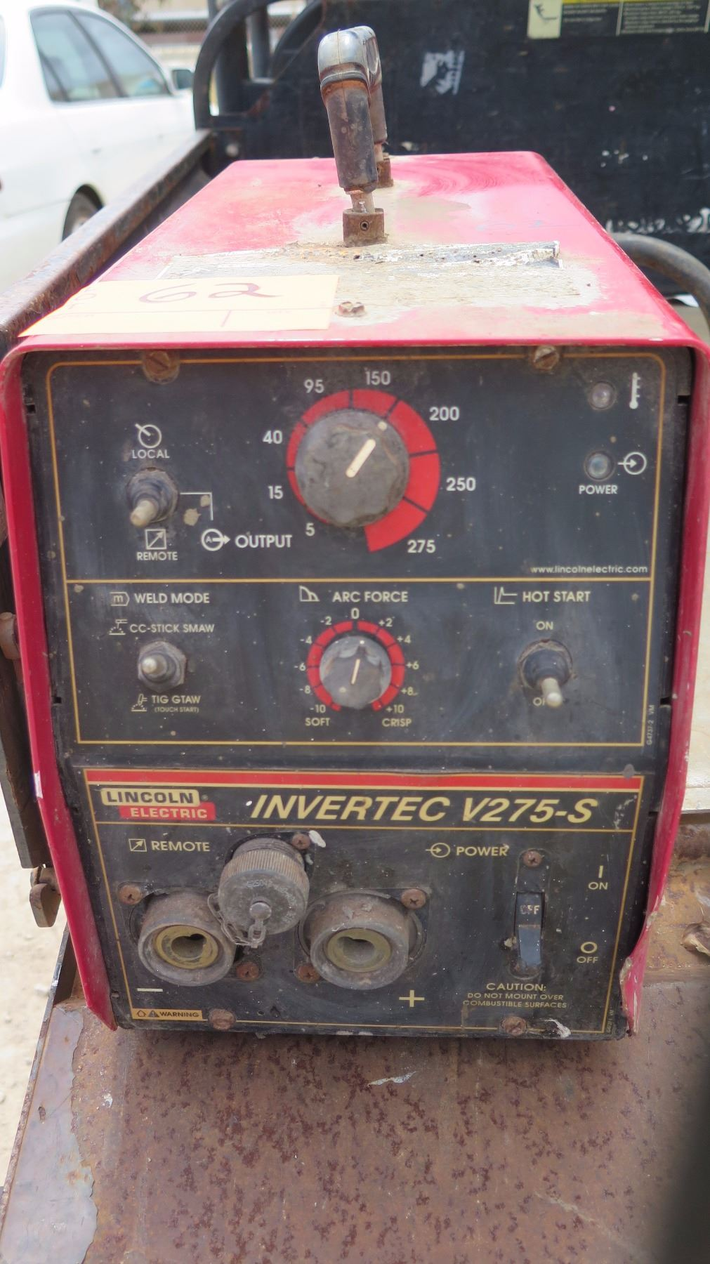 Lincoln Invertec V275 S Stick Welder Image 1