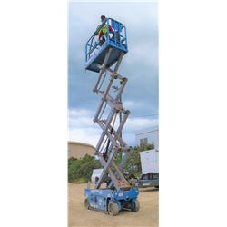 2013 GENIE GS1930 19-FT ELECTRIC SCISSORLIFT -