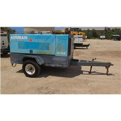 2009 AIRMAN PDS400S DIESEL AIR COMPRESSOR, 150PSI, 375CFM, 5938 HOURS