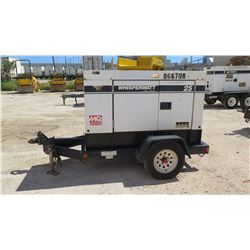2011 MQ POWER MODEL DCA25USI2 DIESEL GENERATOR, 20KW, 10694 HOURS