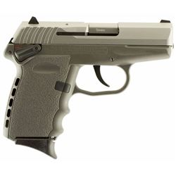 "SCCY Industries CPX1TTSG CPX-1 Double 9mm 3.1"" 10+1 Gray Polymer Grip/Frame Grip Stainless"