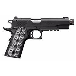 "Browning 051820490 1911-22 Black Label SAO 22LR 4.875"" 10+1 Blk/Gray G10 Grip"