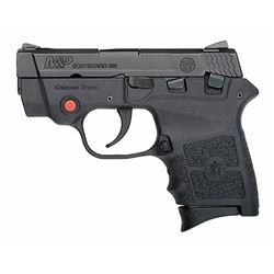 Smith & Wesson 10048 M& P Bodyguard 380 with Crimson Trace Red Laser Double 380 Automatic Colt Pisto