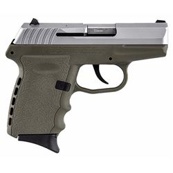 "SCCY Industries CPX2TTDE CPX-2 Double 9mm 3.1"" 10+1 Flat Dark Earth Polymer Grip/Frame Grip Stainles"