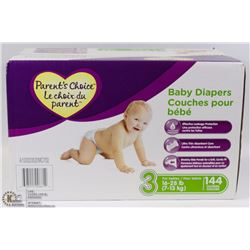 144PC BABY DIAPERS