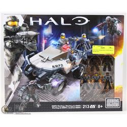 NEW HALO WARTHOG 213PCS MEGA BLOKS SET