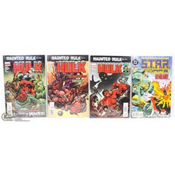 LOT OF 3 HAUNTED HULK COMIC BOOKS NEW IN