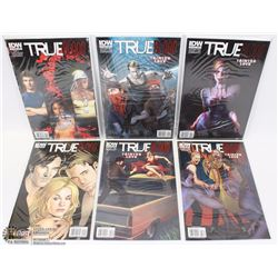 NEW IN PLASTIC TRUE BLOOD COMIC BOOKS
