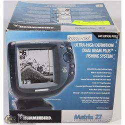 HUMMINGBIRD MATRIX 27 FISH FINDER