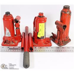 11) TWO NEW TWO TON HYDRAULIC JACKS