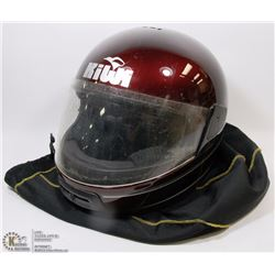 62) KIWI DOT MOTORCYCLE HELMET WITH HJC