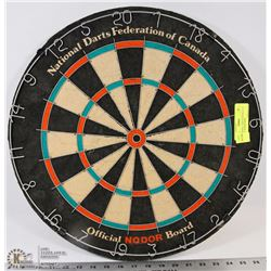 49) NATIONAL DARTS FEDERATION OFFICIAL NODOR DART