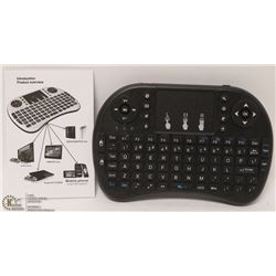 NEW WIRELESS MINI KEYBOARD WITH MOUSE FUNCTIONS