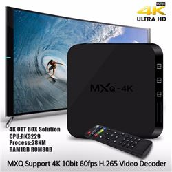 NEW 4K ULTRA HD ANDROID TV BOX MULTIMEDIA GATEWAY
