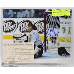 JONAS HILLER GUARANTEED AUTHENTIC AUTOGRAPHED