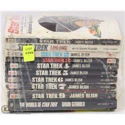 BUNDLE OF STAR TREK BOOKS
