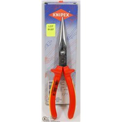 "KNIPEX 1000V 8"" INSULATED PLIERS MADE IN GERMANY"